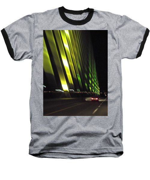 Skyway At Night 5559 Baseball T-Shirt