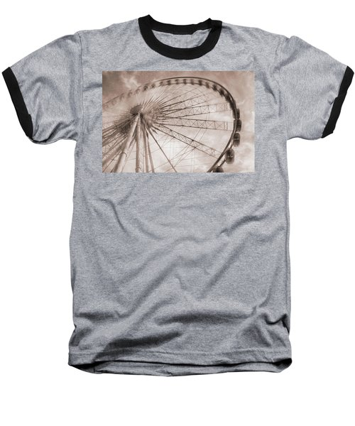 Skywheel In Niagara Falls Baseball T-Shirt