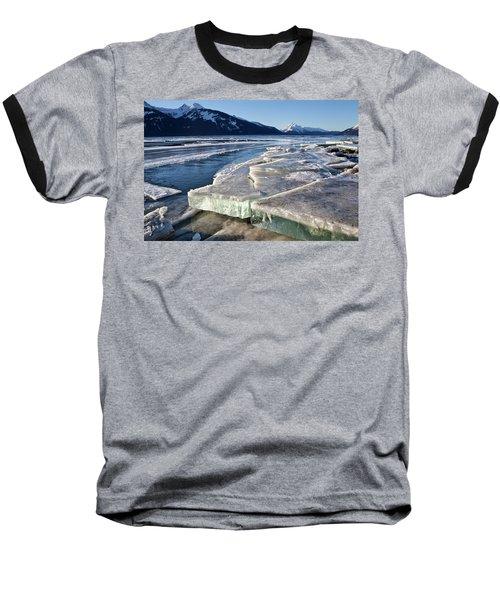 Slabs Of Ice Baseball T-Shirt