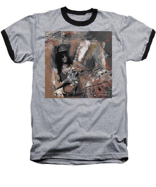 Slash Guns And Roses  Baseball T-Shirt