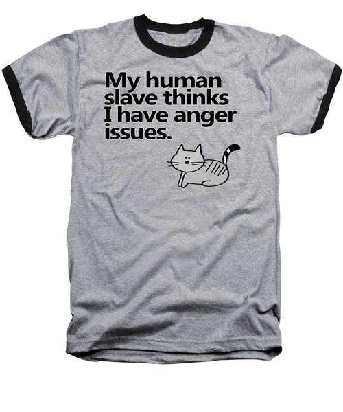 Slave To The Kitty Baseball T-Shirt