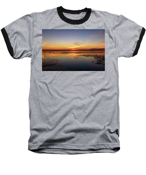 Baseball T-Shirt featuring the photograph Touching The Golden Cloud by Thierry Bouriat