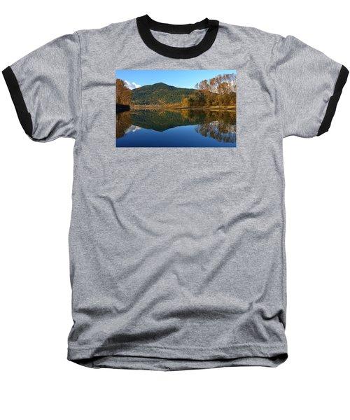 Sleek Serenity 3 Baseball T-Shirt by Heather Vopni