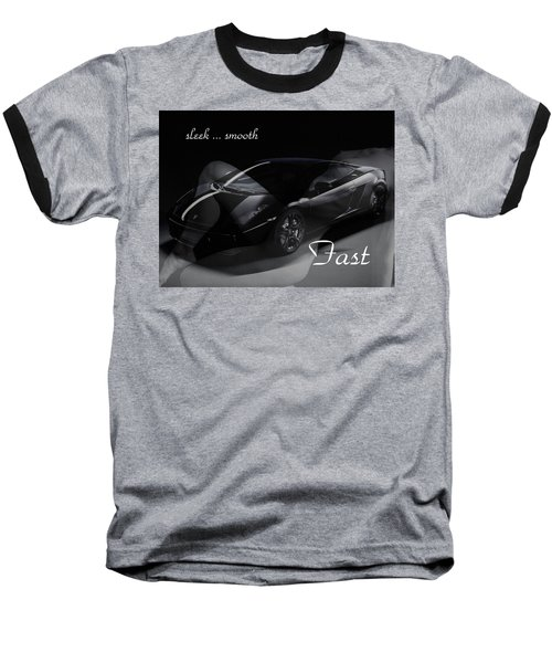 Sleek, Smooth, Fast Baseball T-Shirt