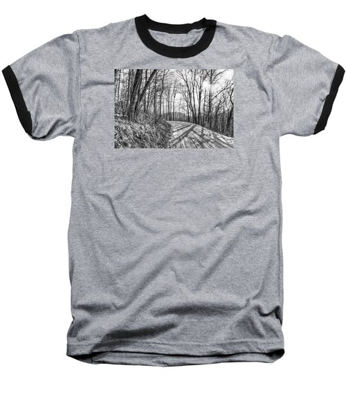 Baseball T-Shirt featuring the photograph Sleep Hallow Road by Dan Traun