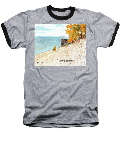 Sleeping Bear Dunes Baseball T-Shirt