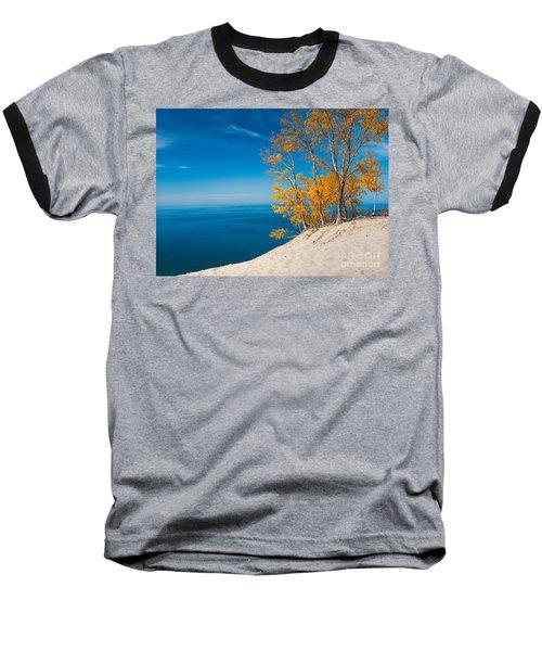Sleeping Bear Dunes Vista 002 Baseball T-Shirt
