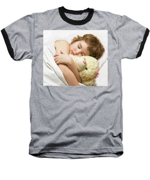 Sleeping Boy Baseball T-Shirt