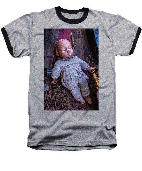 Sleeping Doll Baseball T-Shirt