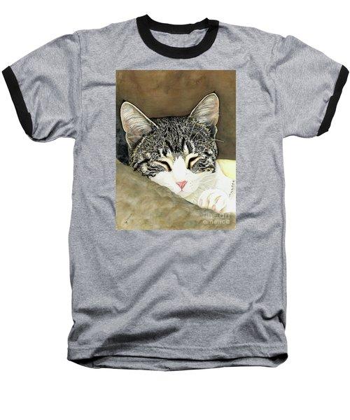 Sleeping Mia Baseball T-Shirt