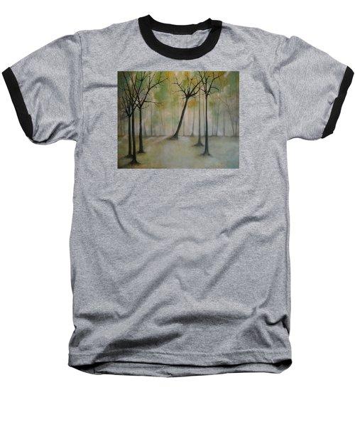 Sleeping Trees Baseball T-Shirt
