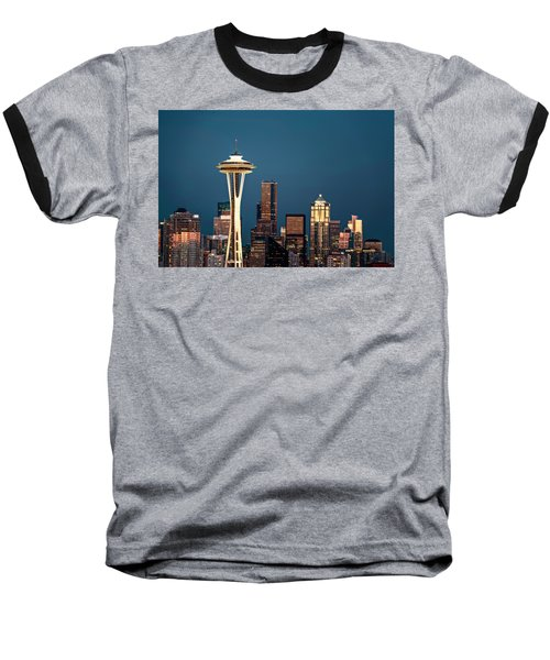 Baseball T-Shirt featuring the photograph Sleepless In Seattle by Eduard Moldoveanu