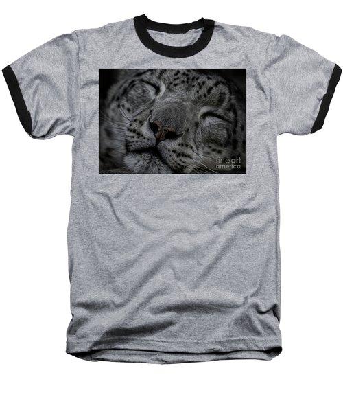 Sleepy Cat Baseball T-Shirt