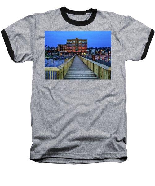 Sleepy Hollow Pier Baseball T-Shirt
