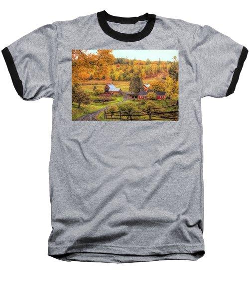 Sleepy Hollow - Pomfret Vermont In Autumn Baseball T-Shirt