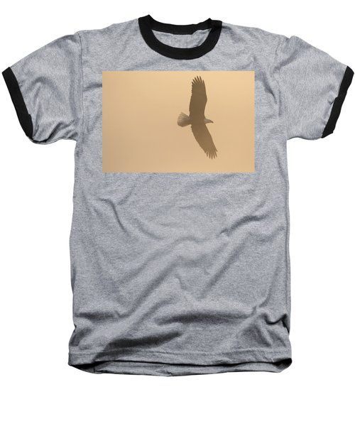 Slicing Through The Fog Baseball T-Shirt