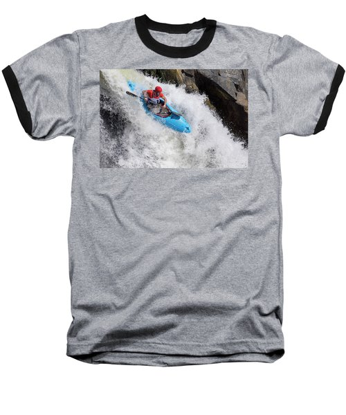 Slicing To The Finish Baseball T-Shirt
