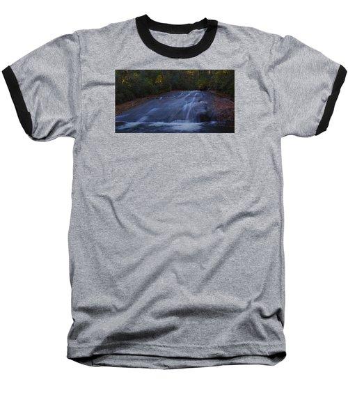 Baseball T-Shirt featuring the photograph Sliding Rock Falls by Ellen Heaverlo