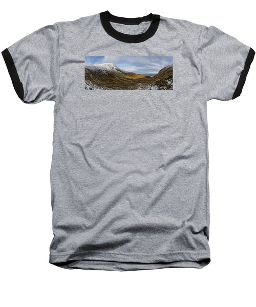 Slieve Commedagh And Slieve Donard Panorama From The Assent  Baseball T-Shirt