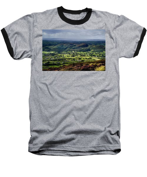 Slieve Gullion, Co. Armagh, Ireland Baseball T-Shirt by The Irish Image Collection