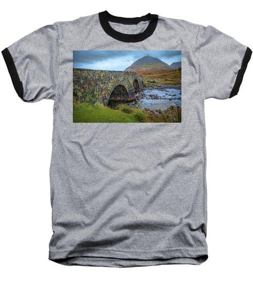 Sligachan Bridge View #h4 Baseball T-Shirt