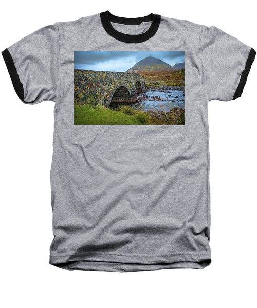 Sligachan Bridge View #h4 Baseball T-Shirt