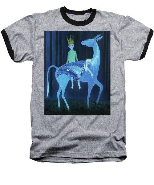 Sliten Nattsvermer Baseball T-Shirt