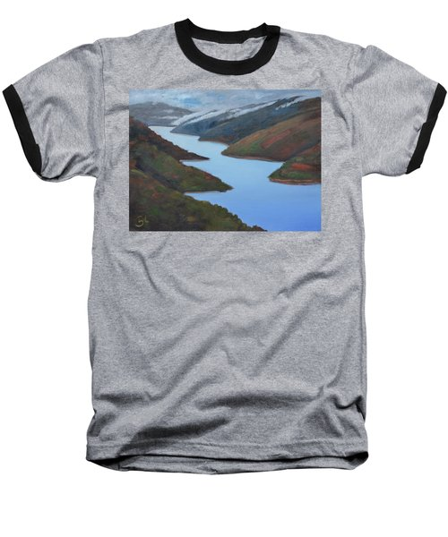 Sliver Of Crystal Springs Baseball T-Shirt by Gary Coleman