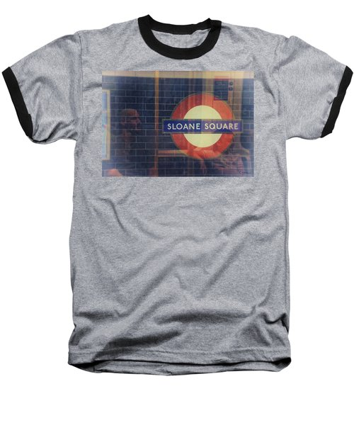 Sloane Square Portrait Baseball T-Shirt