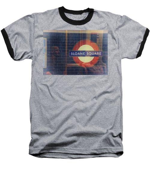 Sloane Square Portrait Baseball T-Shirt