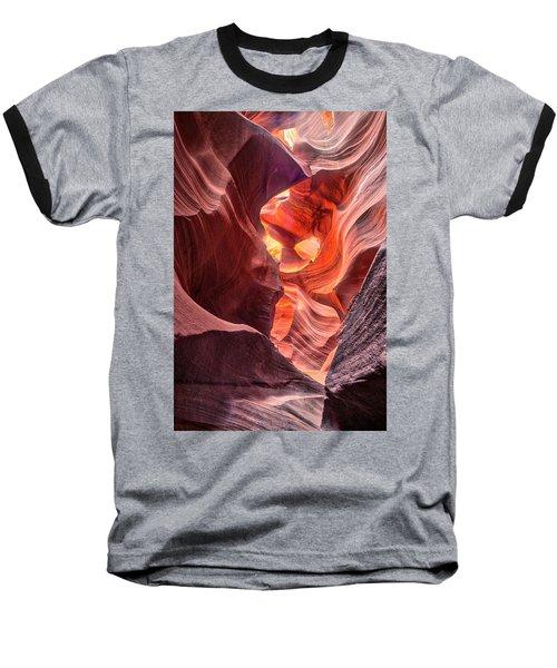Slot Canyon 2 Baseball T-Shirt