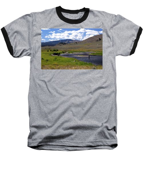 Slough Creek Angler Baseball T-Shirt