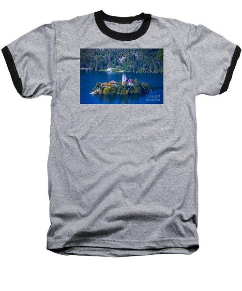 Slovenia Europe Baseball T-Shirt