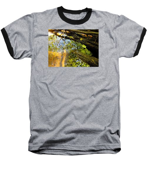 Baseball T-Shirt featuring the photograph Slow Creek by Adria Trail