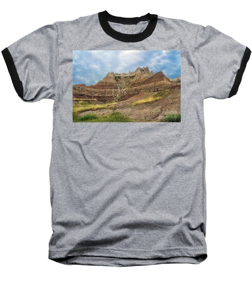 Slow Erosion Baseball T-Shirt