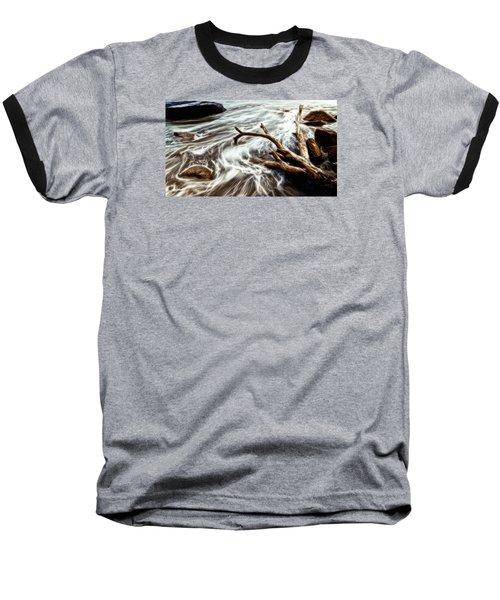Slow Motion Sea Baseball T-Shirt