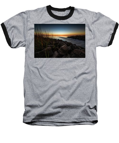 Slow Motion Runoff Baseball T-Shirt