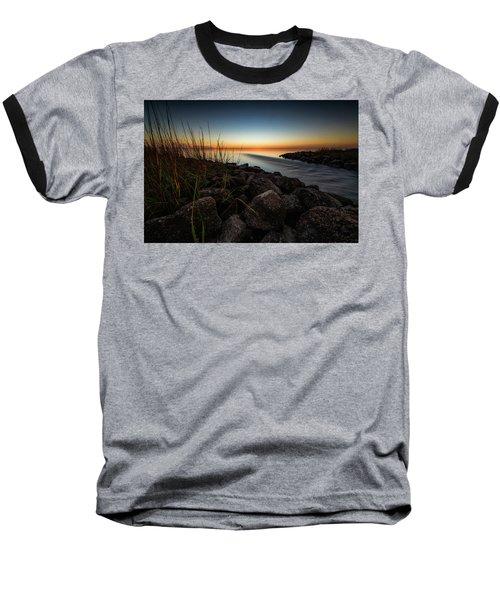 Slow Motion Runoff Baseball T-Shirt