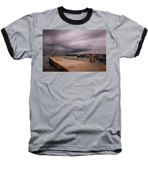 Slow Summer Storm Baseball T-Shirt