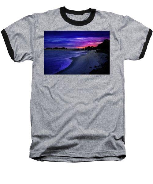 Slow Waves Erupting Clouds Baseball T-Shirt