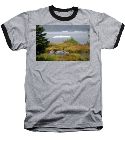 Slowly Floating By Baseball T-Shirt