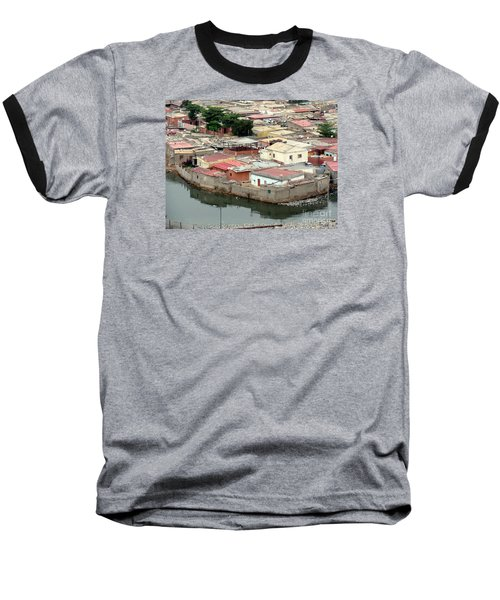Slum In Luanda, Angola Baseball T-Shirt