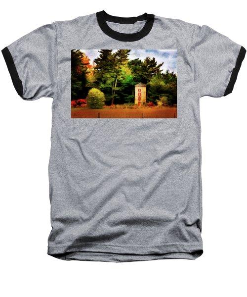 Small Autumn Silo Baseball T-Shirt