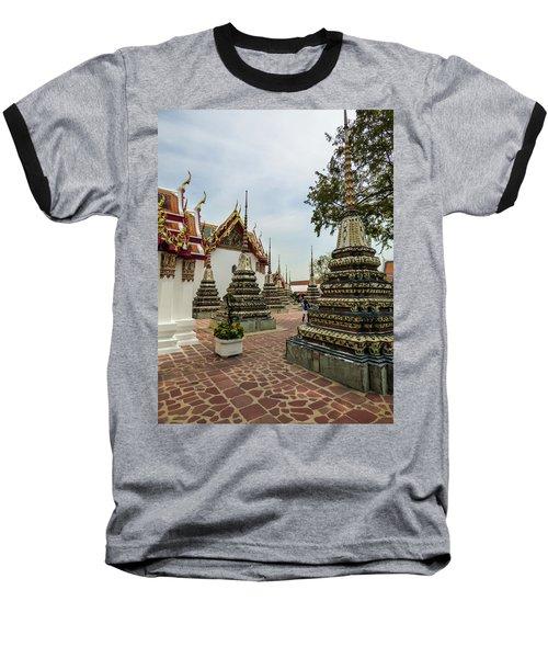 Small Beautiful Stupas At Wat Pho Temple Baseball T-Shirt