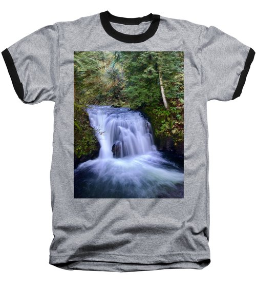 Small Cascade Baseball T-Shirt