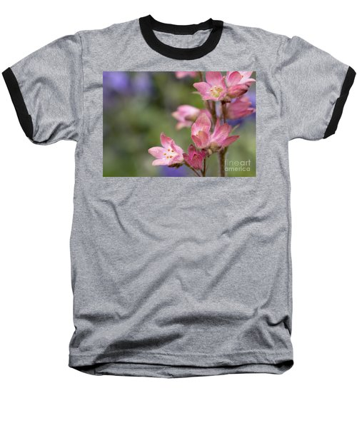 Small Flowers Baseball T-Shirt by Tine Nordbred