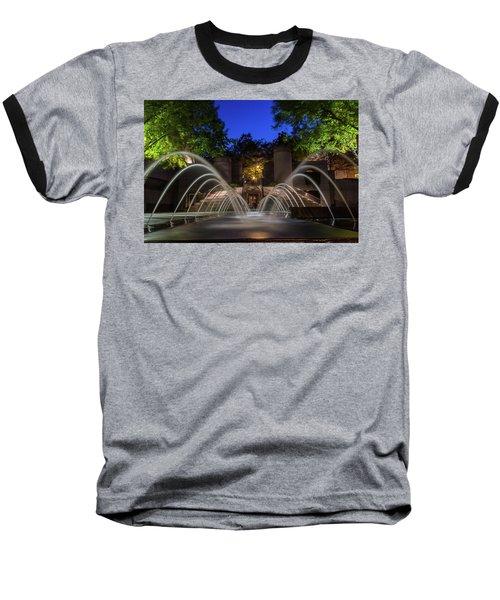 Small Fountain Baseball T-Shirt