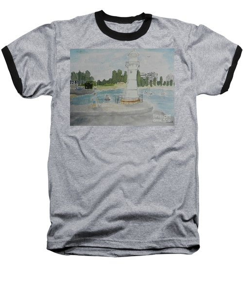 Small Lighthouse One Belmore Basin Baseball T-Shirt