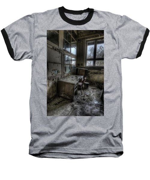 Baseball T-Shirt featuring the digital art Small Office by Nathan Wright