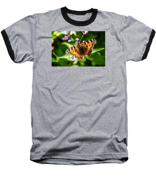 Small Tortoiseshell Baseball T-Shirt by Martina Fagan